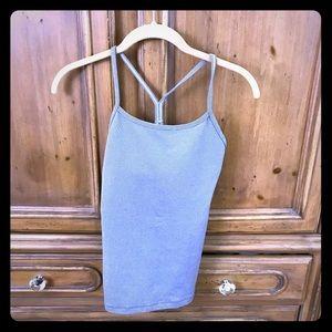 Lululemon women's workout top (maybe a size small)